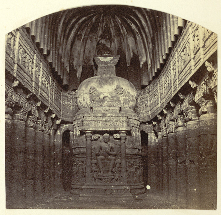 Interior [of Ajanta Cave XXVI]